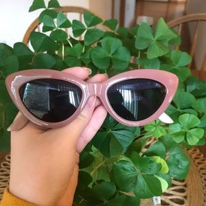 Blush Anthropologie Sunglasses